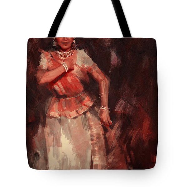 Classical Dance Art 18b Tote Bag