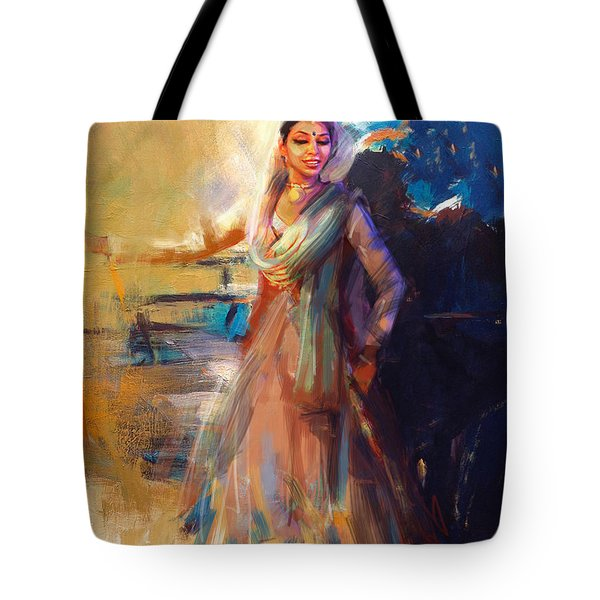 Classical Dance Art 5 Tote Bag