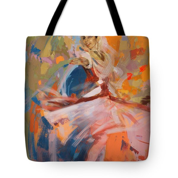 Classical Dance Art 6 Tote Bag