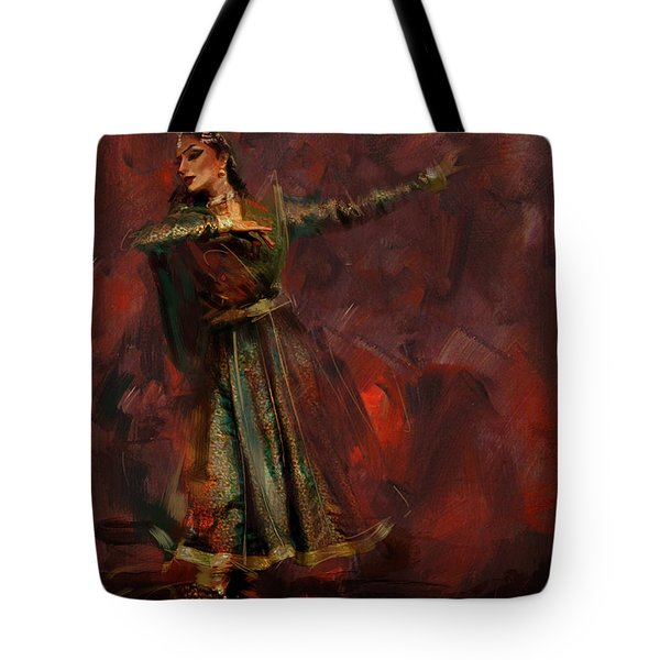 Classical Dance Art 7 Tote Bag