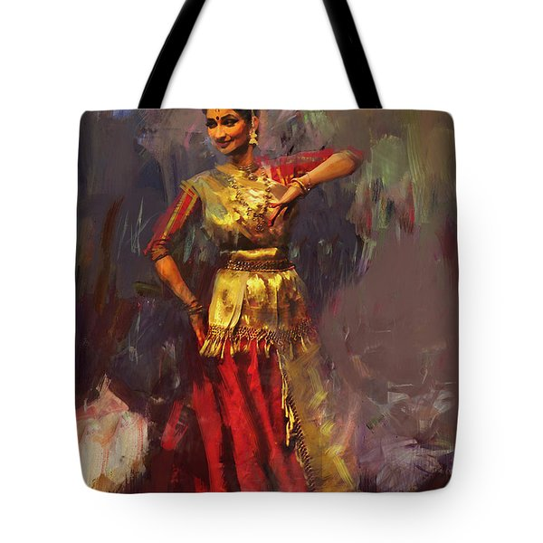 Classical Dance Art 9 Tote Bag