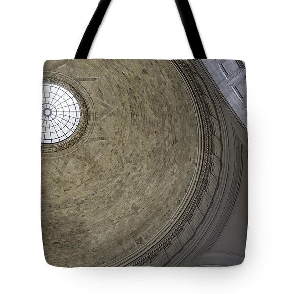 Classical Dome With Oculus Tote Bag by Lynn Palmer