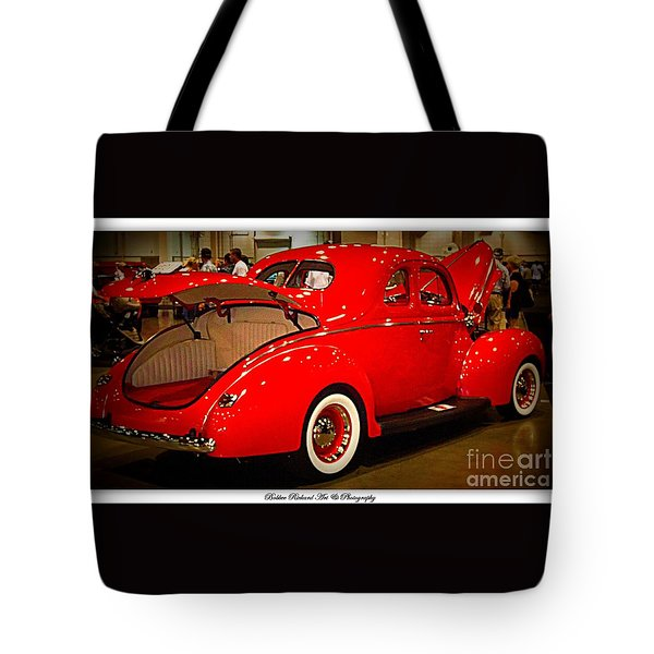 Classically Orange Tote Bag