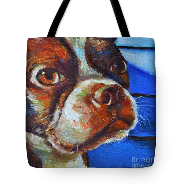 Tote Bag featuring the painting Classy Hank by Robert Phelps