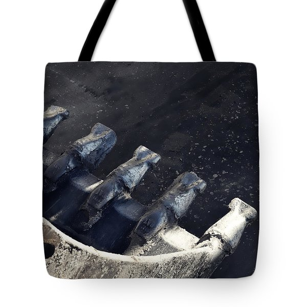Claw - Industrial Photography By Sharon Cummings Tote Bag by Sharon Cummings