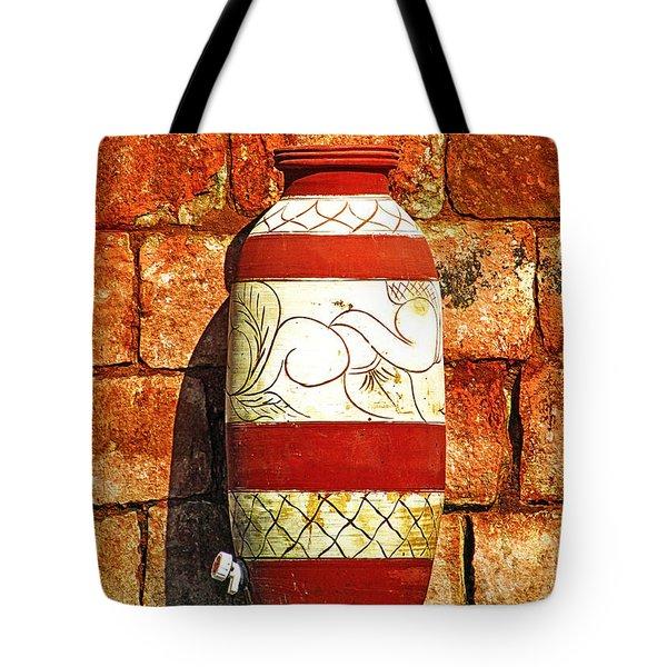 Clay Art Tote Bag