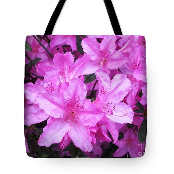 Azaleas Tote Bag by Donna Dixon