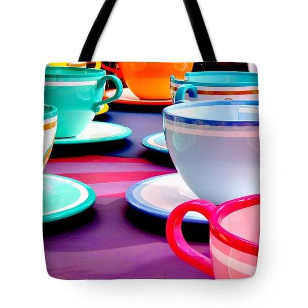 Tote Bag featuring the photograph Clean Cup Clean Cup Move Down by Benjamin Yeager