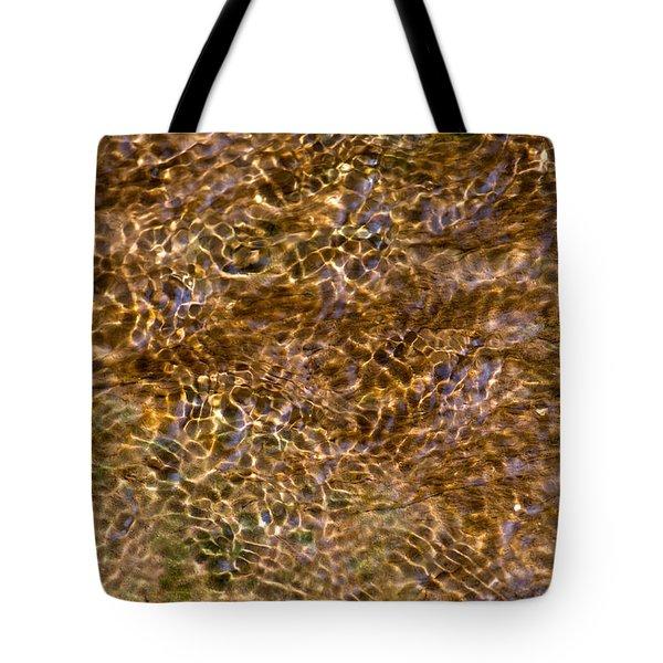 Clean Stream 3 - Featured 3 Tote Bag by Alexander Senin