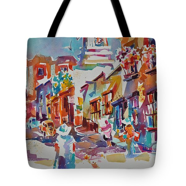 Clean Sweep, Frank Nash Award, Transparent Watercolor Society Of America, 2015 Tote Bag