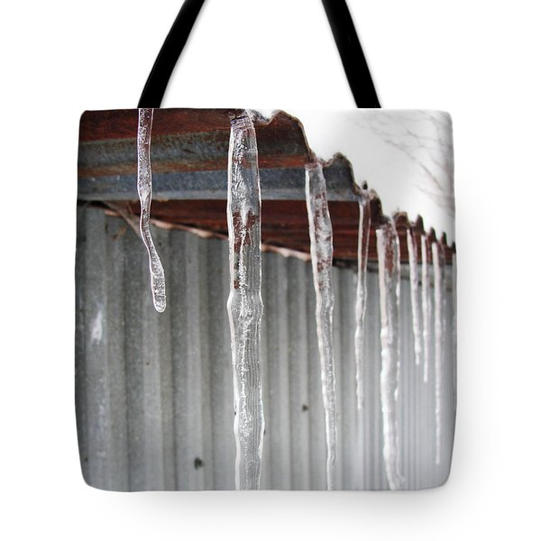 Tote Bag featuring the photograph Clear As Glass by Tiffany Erdman