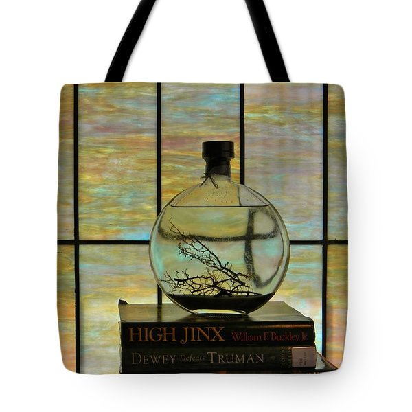 Clear On Color Tote Bag by Jean Goodwin Brooks