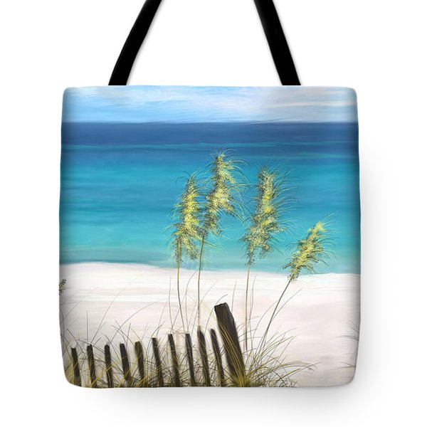 Clear Water Florida Tote Bag