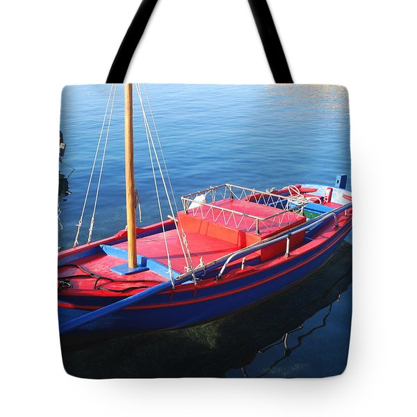 Tote Bag featuring the photograph Clear Waters by George Katechis