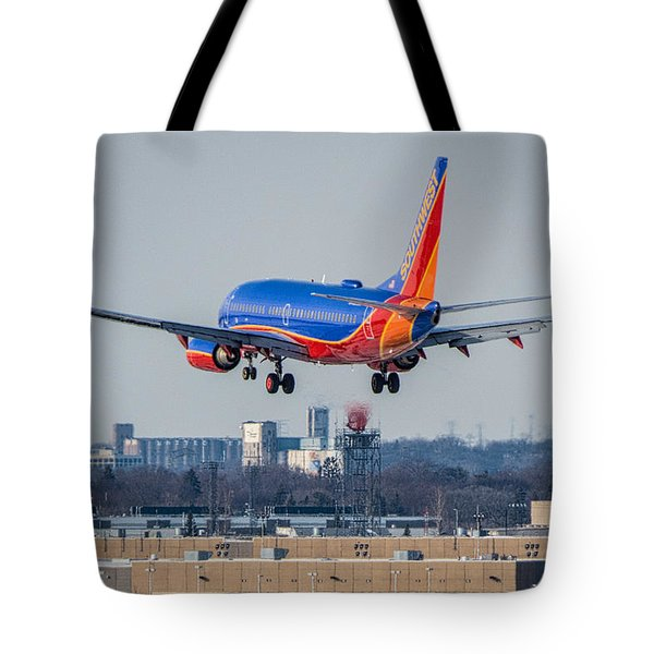 Cleared For Landing Tote Bag