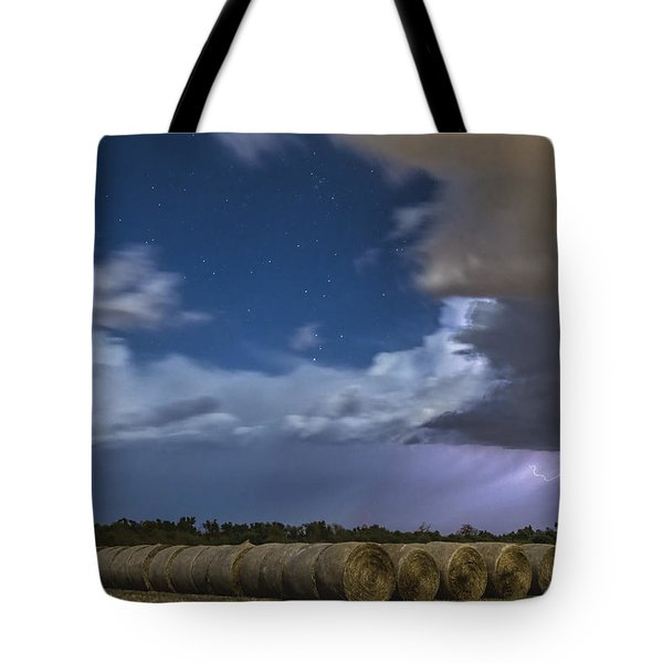 Tote Bag featuring the photograph Clearing Storm by Rob Graham