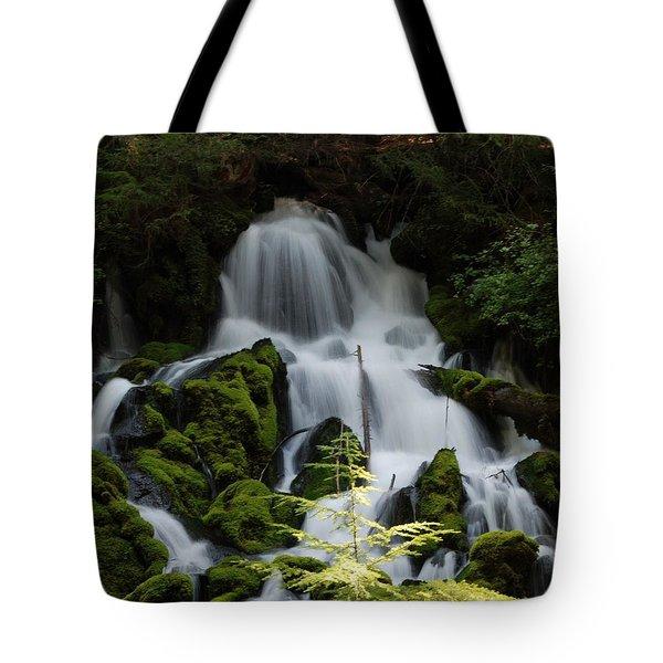 Clearwater Falls Tote Bag