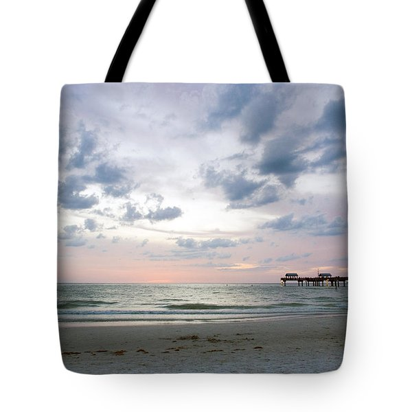 Clearwater Fishing Pier Tote Bag