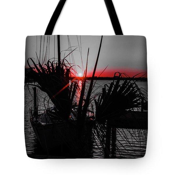 Clearwater Sunrise Tote Bag