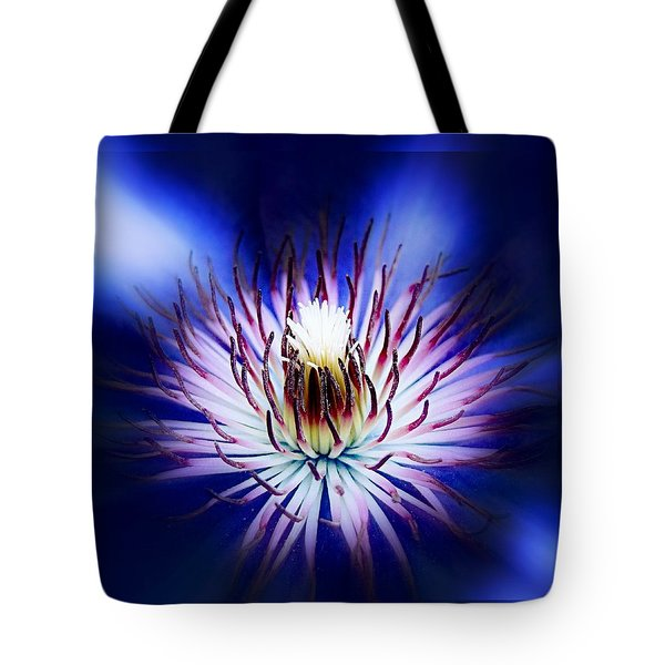 Clemantis Center Tote Bag