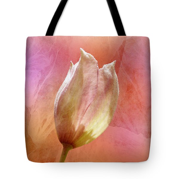 Clematis Opening Tote Bag