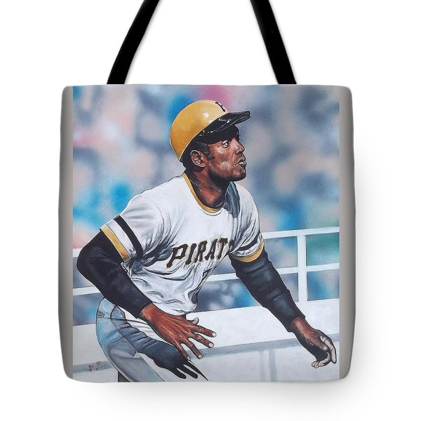 Clemente Tote Bag by D A Nuhfer