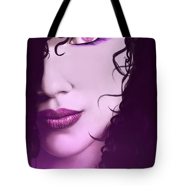 Cleopatra Tote Bag by Michael Rucker