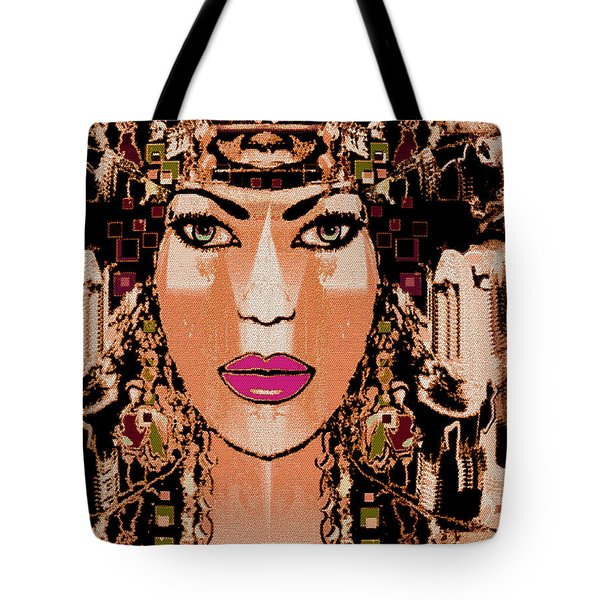 Cleopatra Tote Bag by Natalie Holland