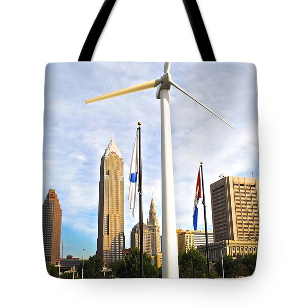 Cleveland Ohio Science Center Tote Bag by Frozen in Time Fine Art Photography