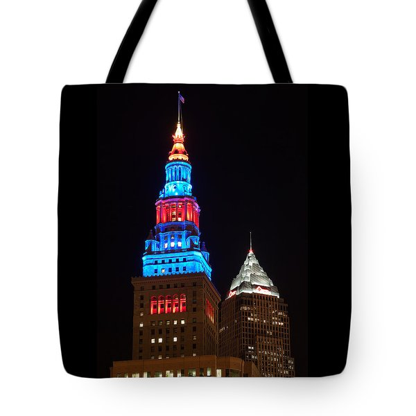 Cleveland Towers Tote Bag