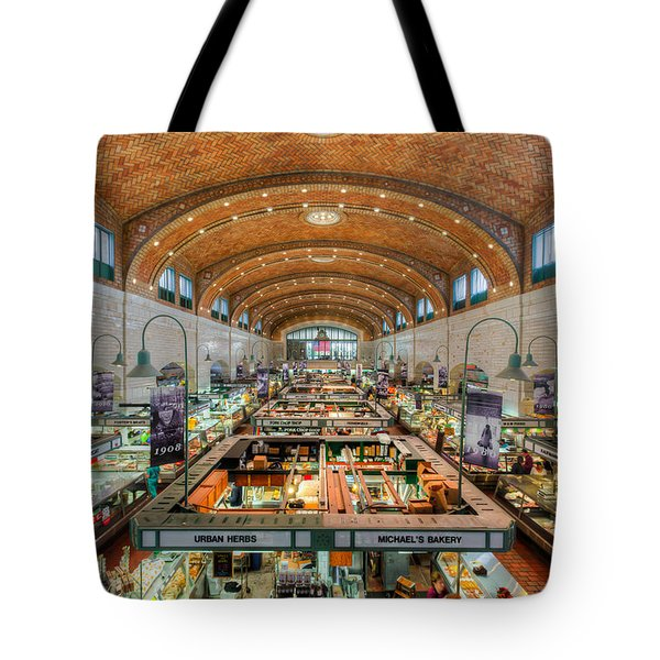 Cleveland West Side Market IIi Tote Bag