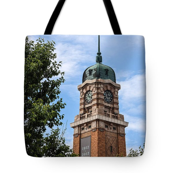 Cleveland West Side Market Tower Tote Bag