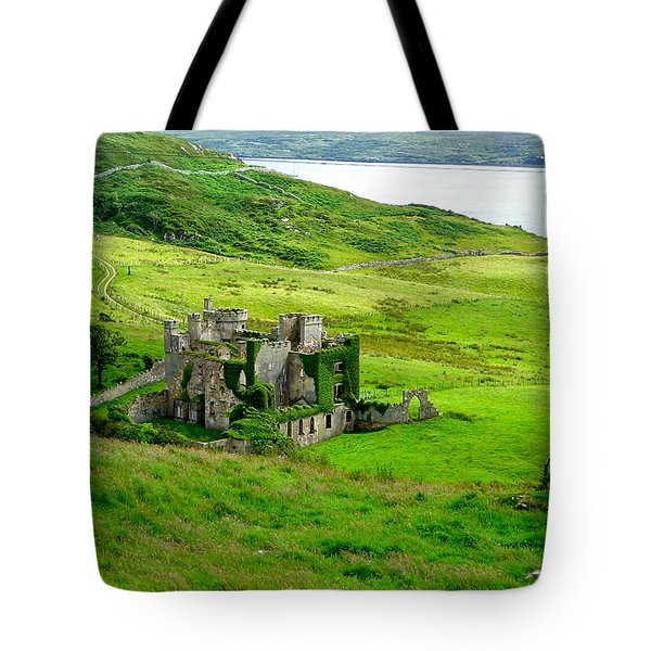 Clifden Castle Tote Bag