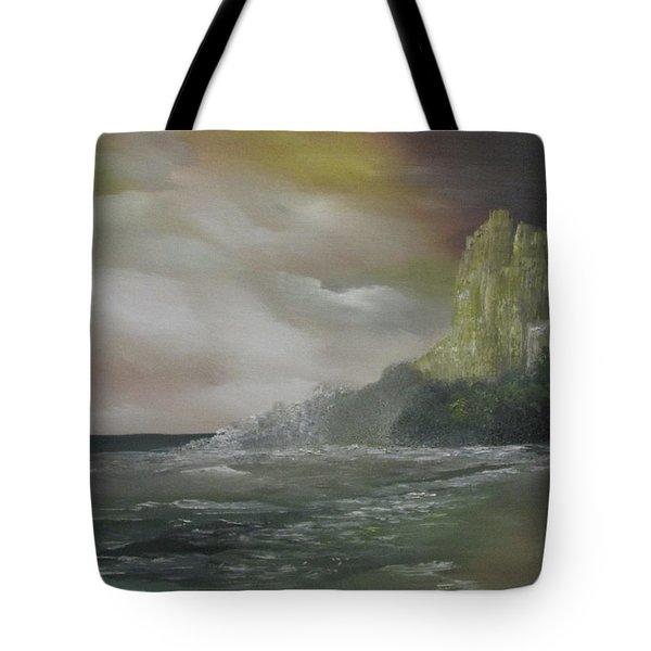 Cliff Bay Tote Bag