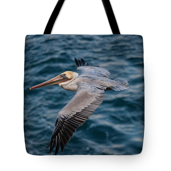 Tote Bag featuring the photograph Cliff Cruising by Sonny Marcyan