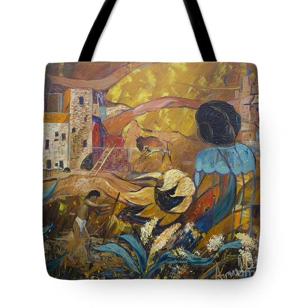 Cliff Dwellers Tote Bag by Avonelle Kelsey