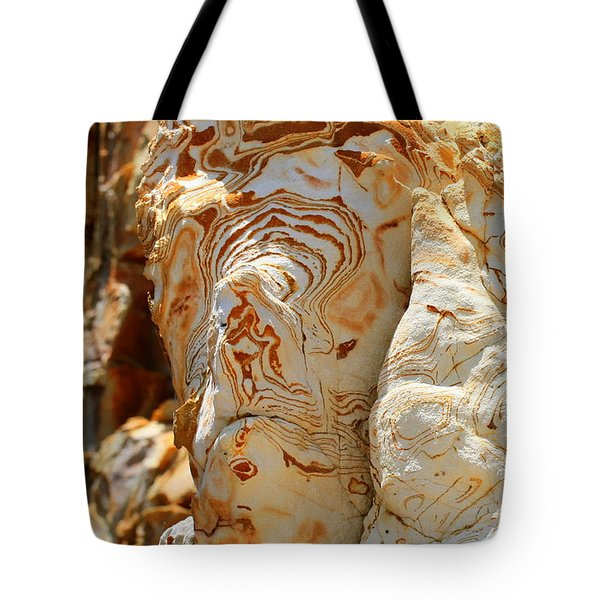 Cliff Face Tote Bag by Tap On Photo