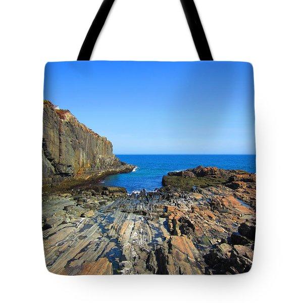 Cliff House Maine Coast Tote Bag
