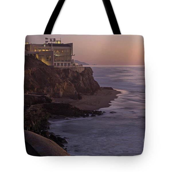 Cliff House Sunset Tote Bag