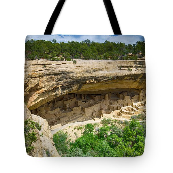 Tote Bag featuring the photograph Cliff Palace by Juergen Klust