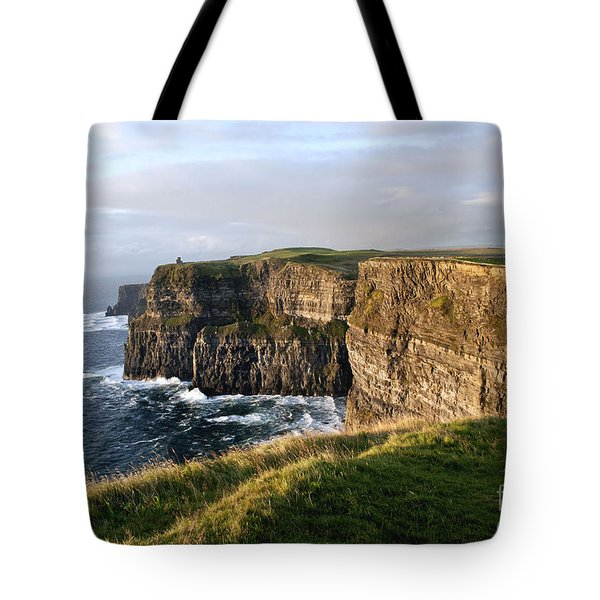 Cliffs Of Moher Evening Light Tote Bag