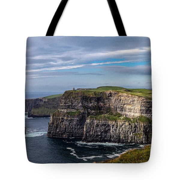 Tote Bag featuring the photograph Cliffs Of Moher I by Juergen Klust
