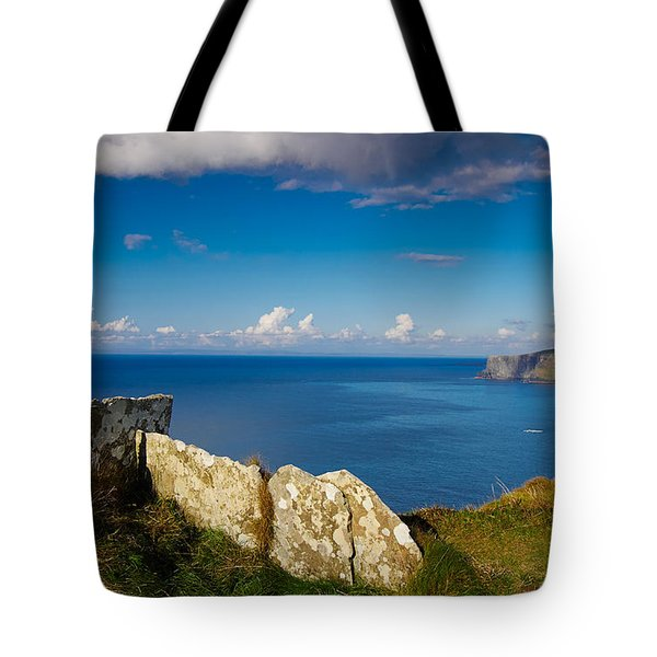 Tote Bag featuring the photograph Cliffs Of Moher by Juergen Klust