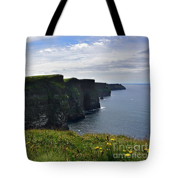 Cliffs Of Moher Looking South Tote Bag