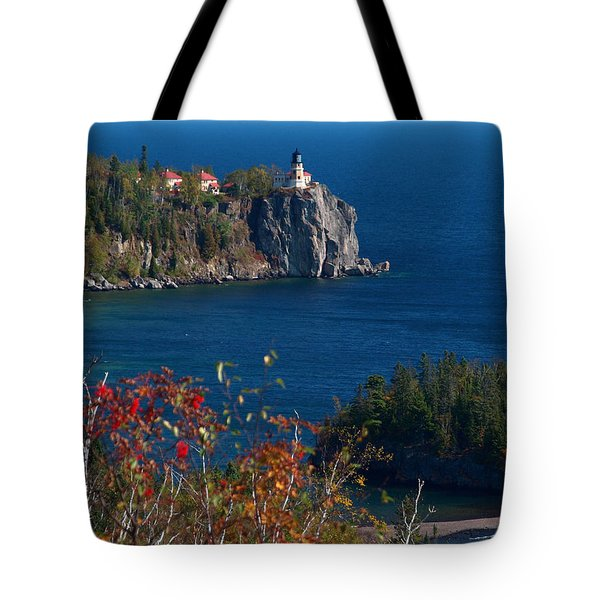 Cliffside Scenic Vista Tote Bag