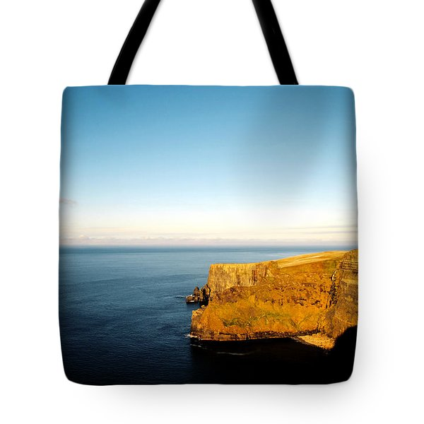 Tote Bag featuring the photograph Clifs Of Moher In Ireland by Maja Sokolowska