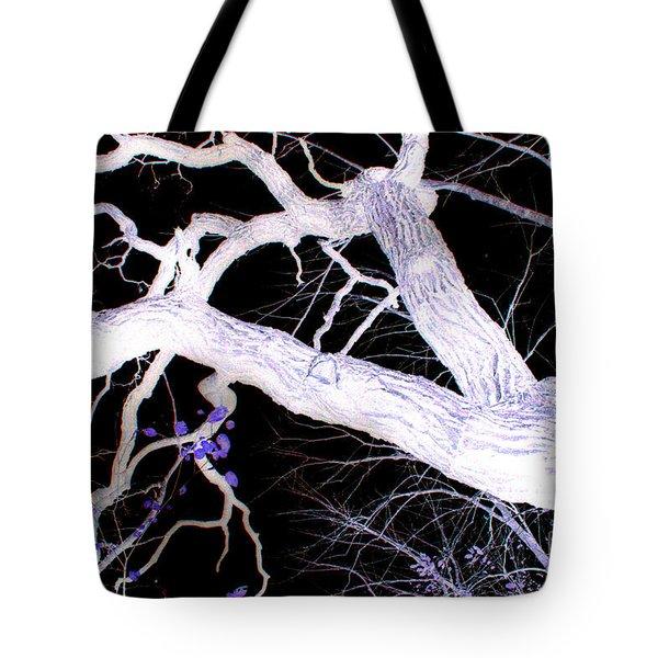 Climb In Darkness Tote Bag by Jamie Lynn