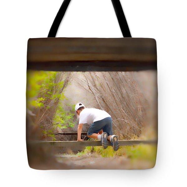 Climb On Over Tote Bag