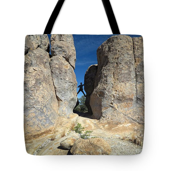 Tote Bag featuring the photograph Climber City Of Rocks by Martin Konopacki