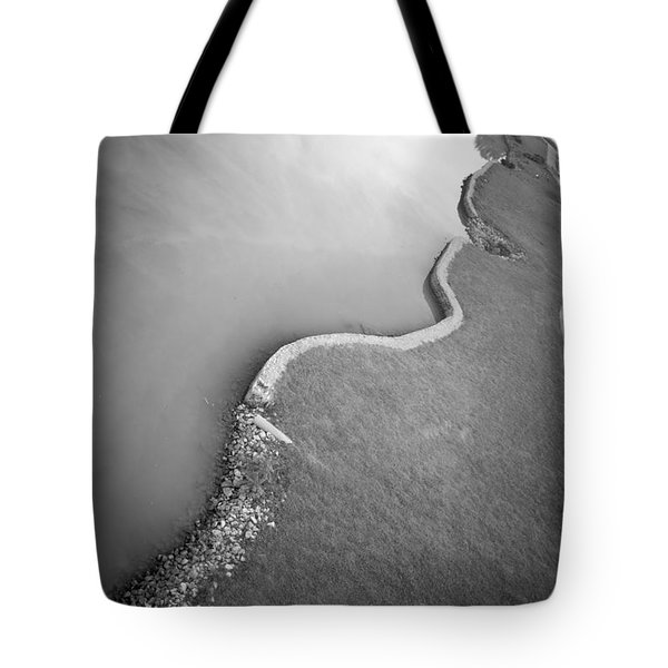 Clinch River Tote Bag by Melinda Fawver